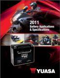 Aplikační tabulky motocyklových akumulátorů pro USA